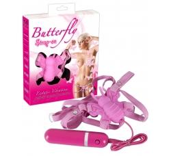 Клиторный стимулятор - Butterfly Strap On