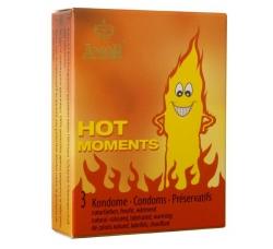 Презервативы Amor Hot Moments (с согревающим и возбуждающим эффектом)