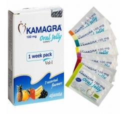 Камагра Гель 100 мг Kamagra 100 Oral Jelly