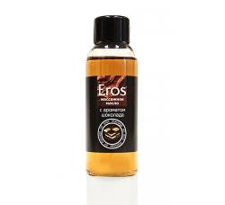 Масло массажное Eros tasty с ароматом шоколада флакон 50 мл