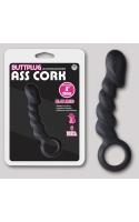 Анальная пробка ass cork butt plug 14см