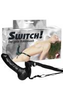 Страпон Switch! чёрный 19 см