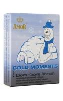 Презервативы Cold Moments с охлаждающим и продлевающим эффектом 3шт