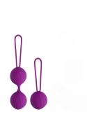 Набор из двойных и одинарного вагинальных шариков