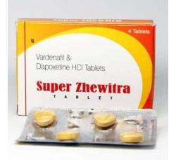 Супер Левитра (Super Zhewitra) - 4 таблетки