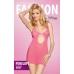 Платье Penelope розовое S\M..M\L
