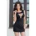 Платье Dina чёрное S