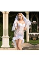 Игровой костюм невесты S/M