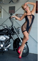 Мини-платье Vip - черное S-L