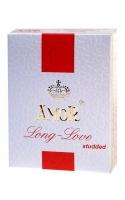 Презервативы Amor-Long Love с пупырчатой поверхностью и эффектом продления полового акта 3шт