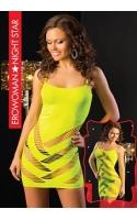 Платье цвет лайм, L/XL
